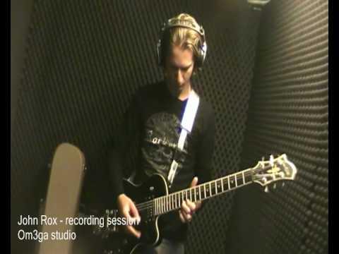 John Rox in studio 2010