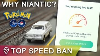 connectYoutube - NO MORE POKÉMON SPAWNS OVER 30 MPH... WHY @NianticLabs?
