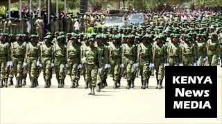 National Youth Service PASSING OUT PARADE in Gilgil 2018!!!
