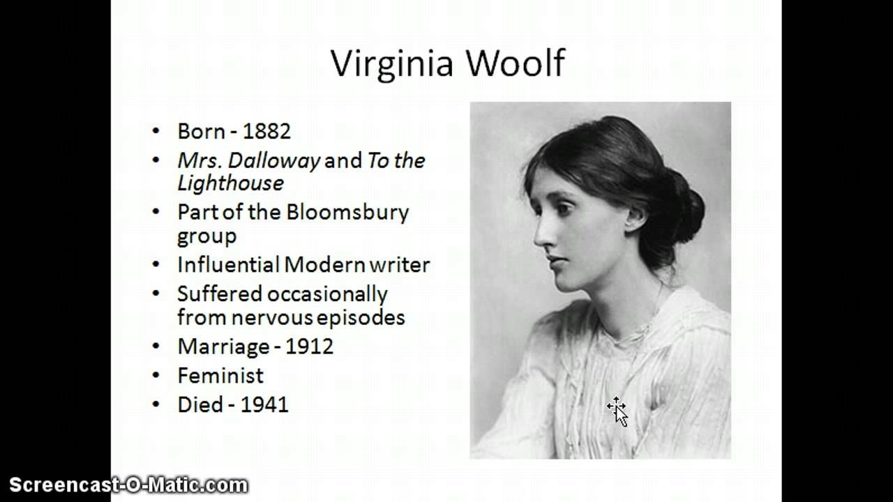 stream of consciousness mrs. dalloway essay Essays - largest database of quality sample essays and research papers on mrs dalloway stream of consciousness.