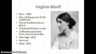 Stream of Consciousness and Mrs. Dalloway