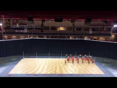Air Academy High School Winter Guard 2018 State Finals