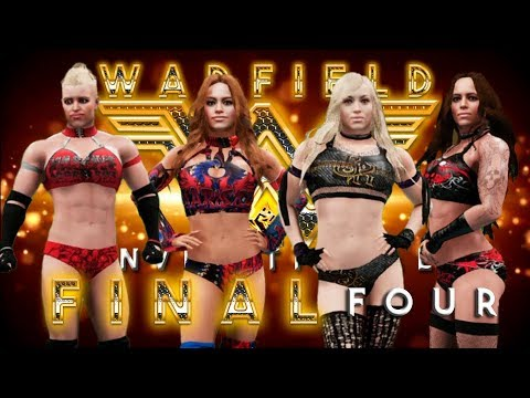 WWE 2K18 (PS4) - 2017 Warfield Invitational: The Final Four (w/ commentary)