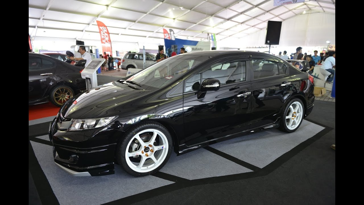 honda civic 9th gen mugen full bodykit walk around hd. Black Bedroom Furniture Sets. Home Design Ideas