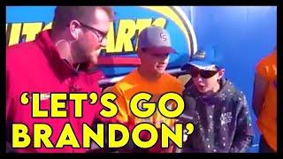 'Let's Go Brandon' Chants Echo Across The Country