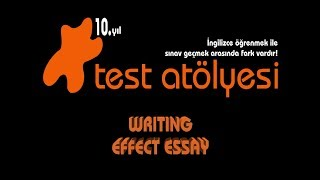 Writing - Effect Essay