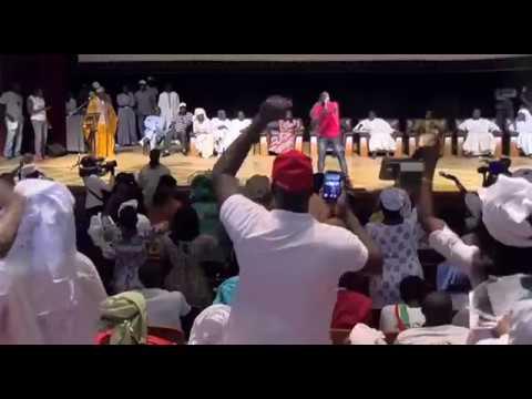 Belle spectacle de Pape Diouf au grand théâtre de Dakar