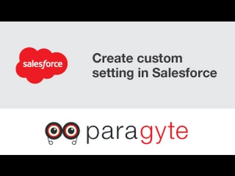 How to create custom setting in Salesforce?