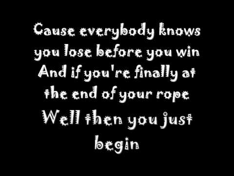 Daniel Powter - lose to win lyrics