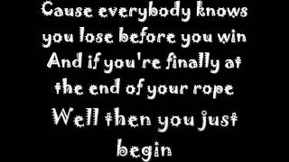 Daniel Powter - lose to win lyrics