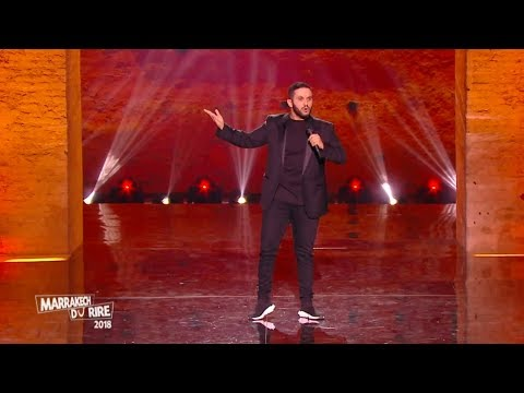 Malik Bentalha au Marrakech du rire 2018 - Le Frigo