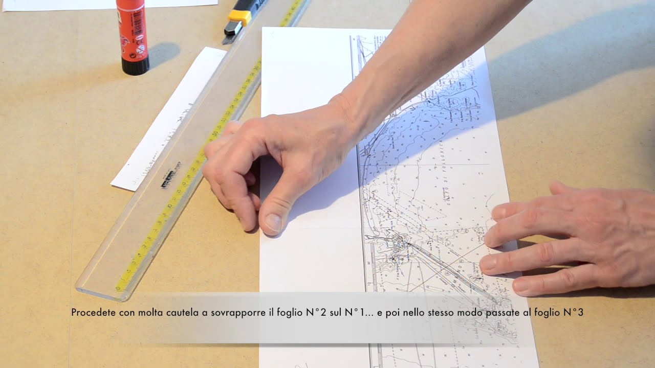 Cartina 5d.Carta Nautica 5d Ad Uso Didattico Youtube
