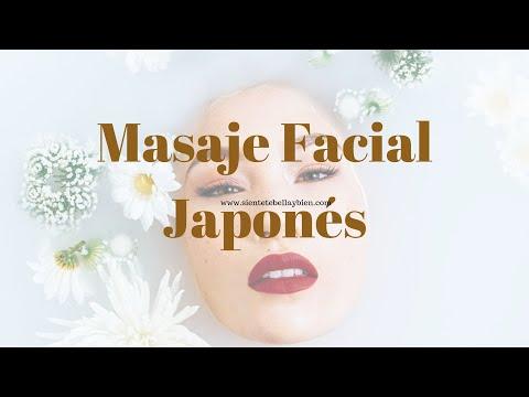 Masaje facial japonés efecto lifting