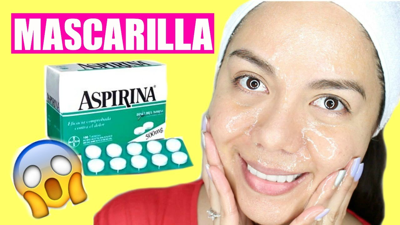 Mascarilla De Aspirina Para El Acné Puntos Negros Y Poros Abiertos Mariebelle Youtube