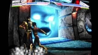 Mortal Kombat Gold - Scorpion playthrough