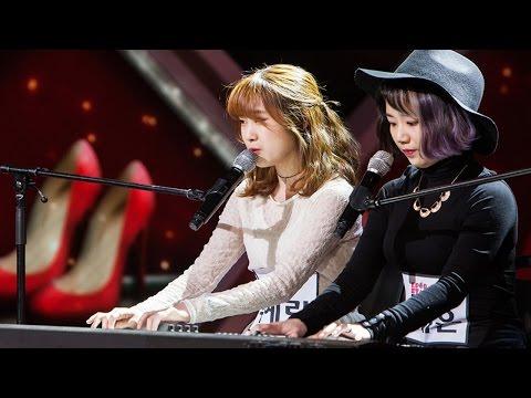 Woo Ye Rin & Ahn Ye Eun - The Red Shoes 우예린 & 안예은 - 분홍신《KPOP STAR 5》K팝스타5 EP11