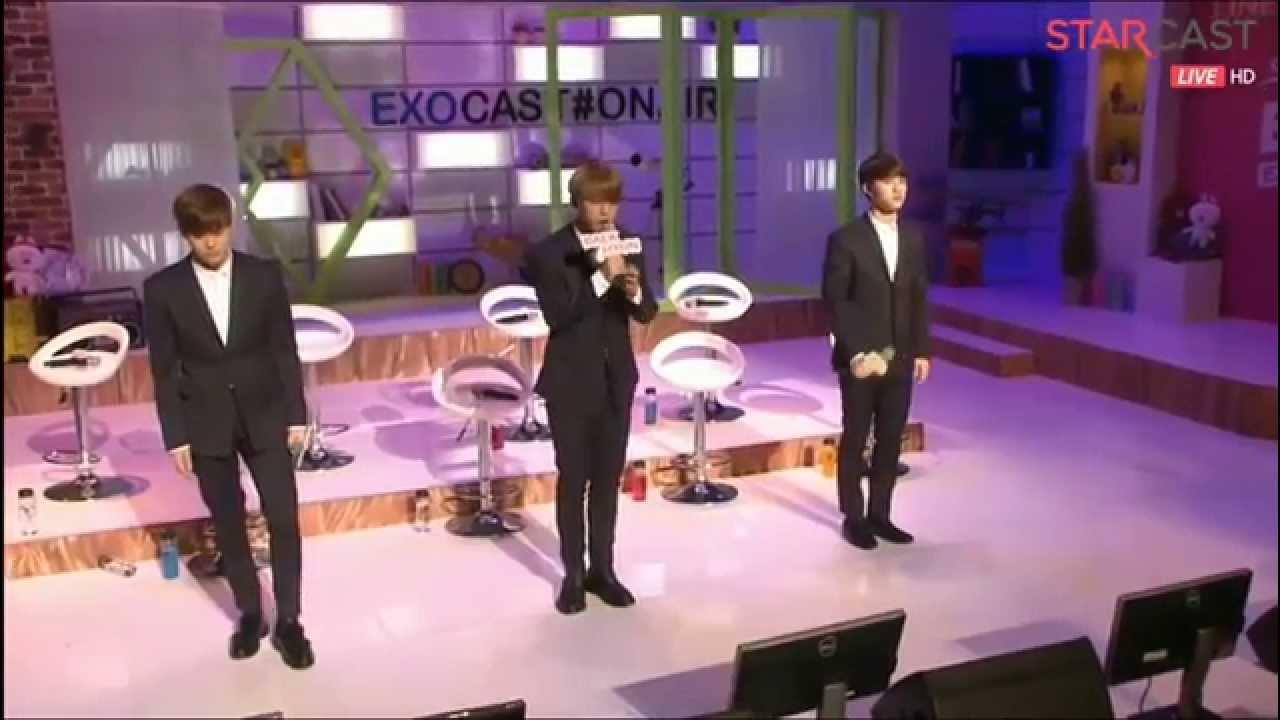 [HD] 150406 EXO Baekhyun D.O. Chen My Answer Naver Starcast