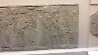 Assyrian Relief, British Museum, London, UK, April 9, 2012.mov