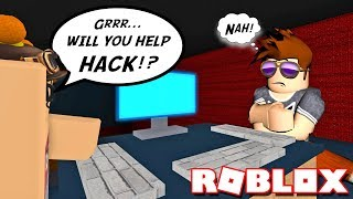 REFUSING TO HACK ANY COMPUTERS! -- ROBLOX FLEE THE FACILITY