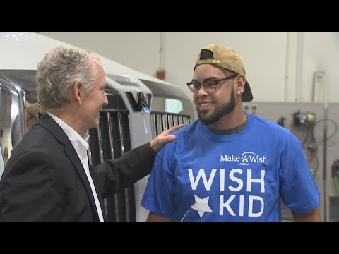 Frankie and Jess - GOOD VIBES: Make-A-Wish Kid gets a scholarship!