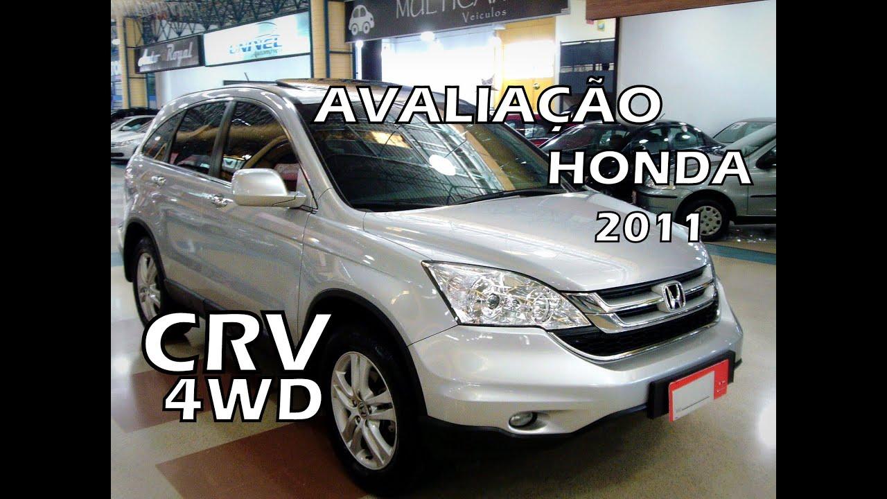 [AVALIAÇÃO] HONDA CRV 4WD 2.0 150CV 2011 TESTE   IMPRESSÃO DO CARRO    YouTube