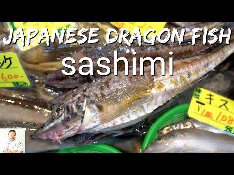 Dragon Fish Sashimi | Hakkaku | Okinawa Street Food