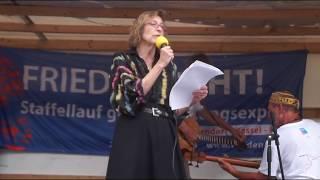 Frieden geht! - Widerstand gegen die Aufrüstung mit Drohnen! - Elsa Rassbach (attac)