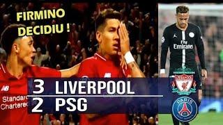 Melhores momentos de Neymar PSG x Liverpool