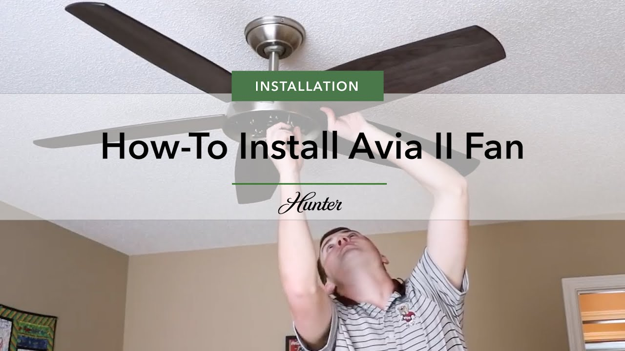 Avia Ii Ceiling Fan By Hunter