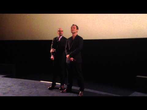Avant-Première Effets Secondaires (ARP Selection) en présence de Jude Law et Steven Soderbergh