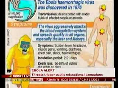 Midday Live - Special Report on Ebola virus from Ghana Immigration Point of View -10/4/2014