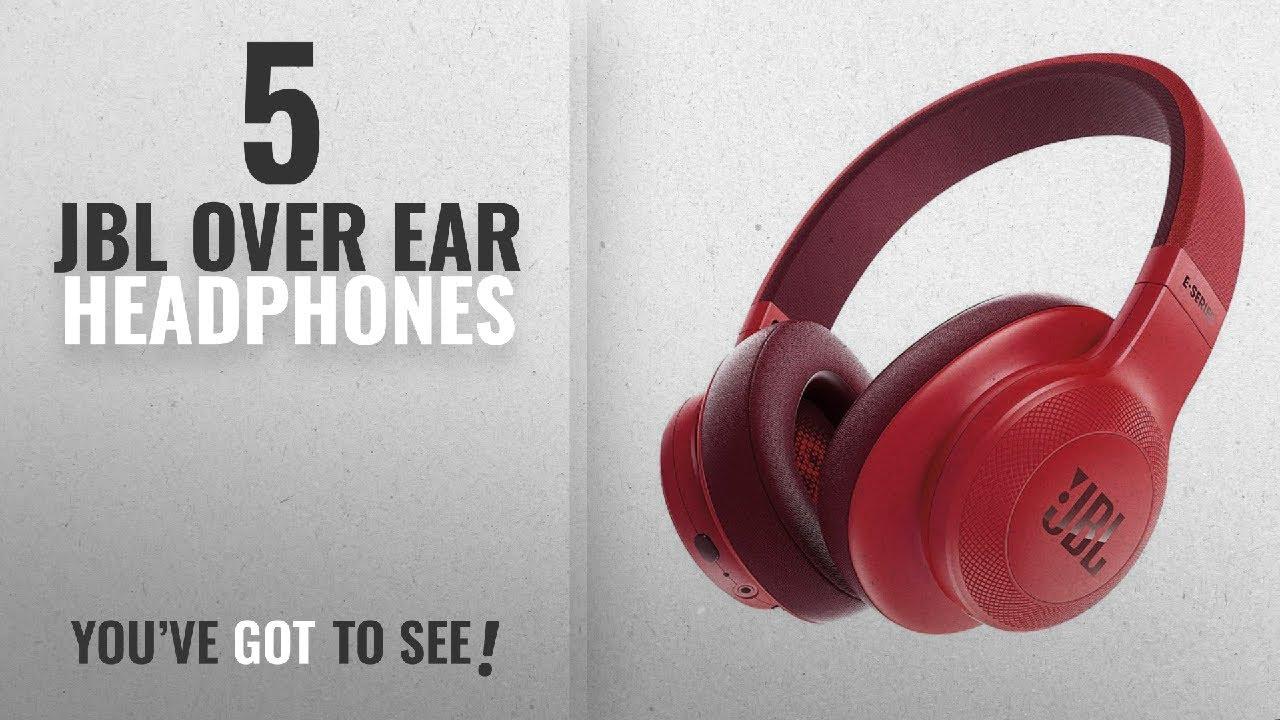 b326632b263 Top 5 JBL Over Ear Headphones [2018]: JBL E55BT Over-Ear Wireless ...