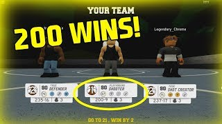 HITTING 200 WINS! [RB World 3 Park ROBLOX] [My Player]