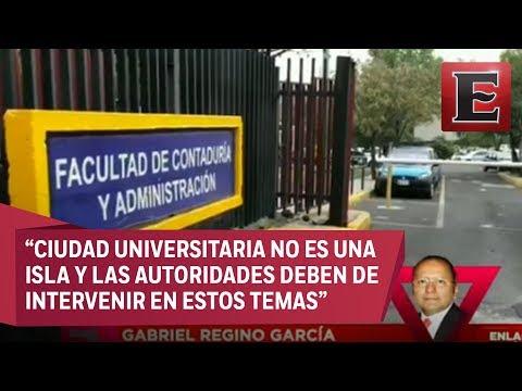 Gabriel Regino habla sobre la balacera en CU