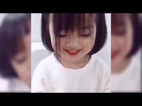 Bé gái Hàn dễ thương đốn tìm cộng đồng mạng.