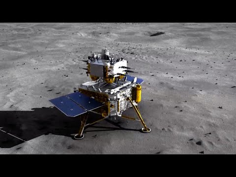 How China's Chang'e-5 spacecraft will collect, return moon samples