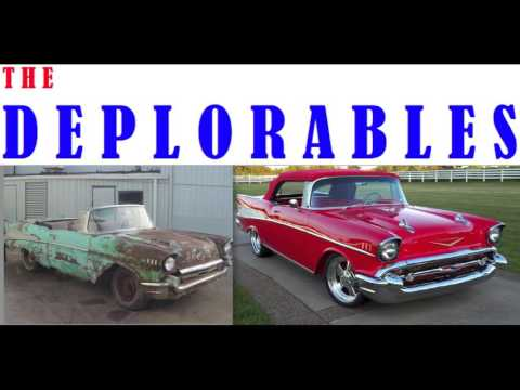 The Deplorables 57 Chevy Unofficial Trump Campaign Song