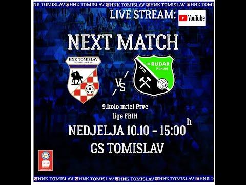 HNK Tomislav - FK Rudar Kakanj | m:tel Prva liga FBiH | 9. kolo