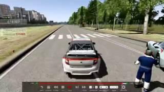 Assetto Corsa Lada Granta Togliatti-ring Лада Гранта на Тольятти-ринге