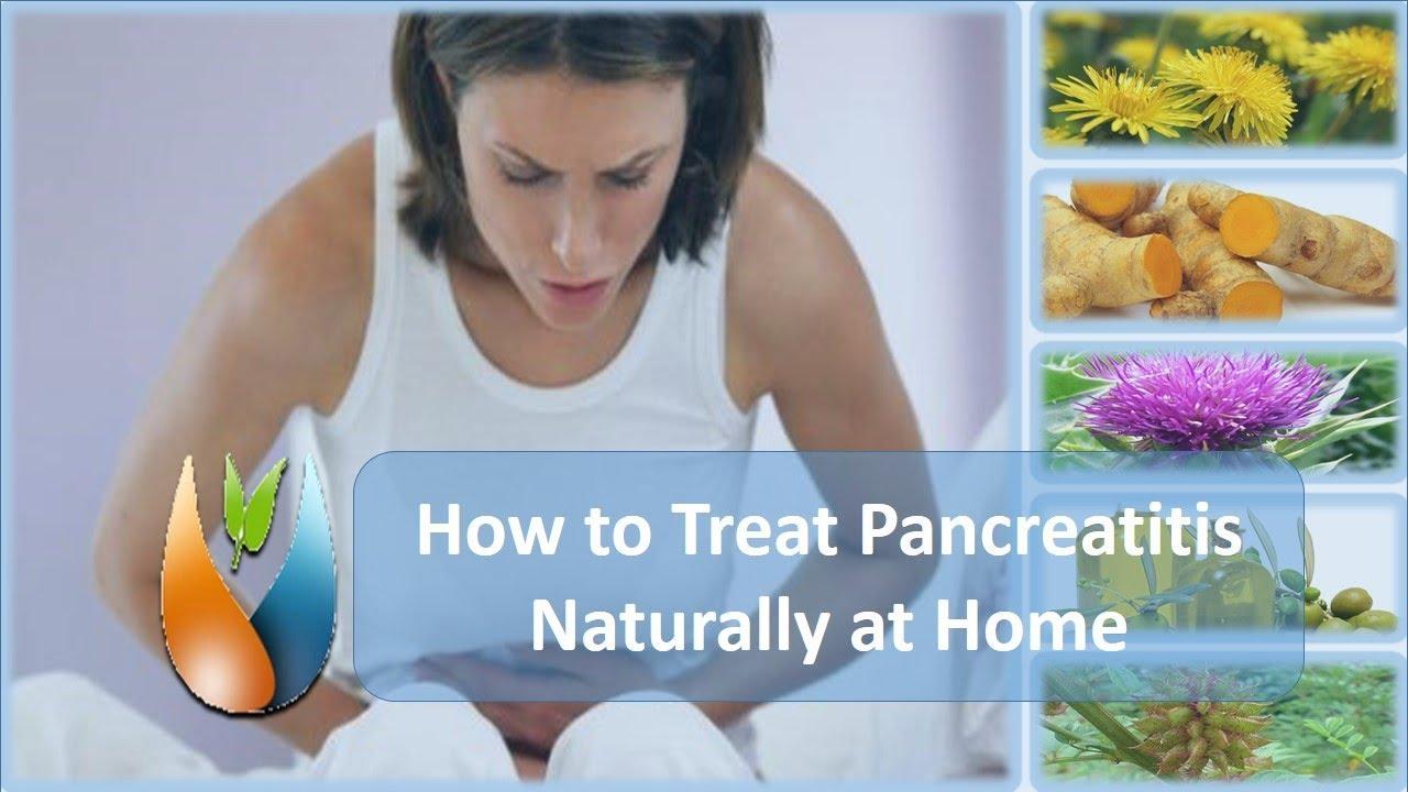 How to treat pancreatitis
