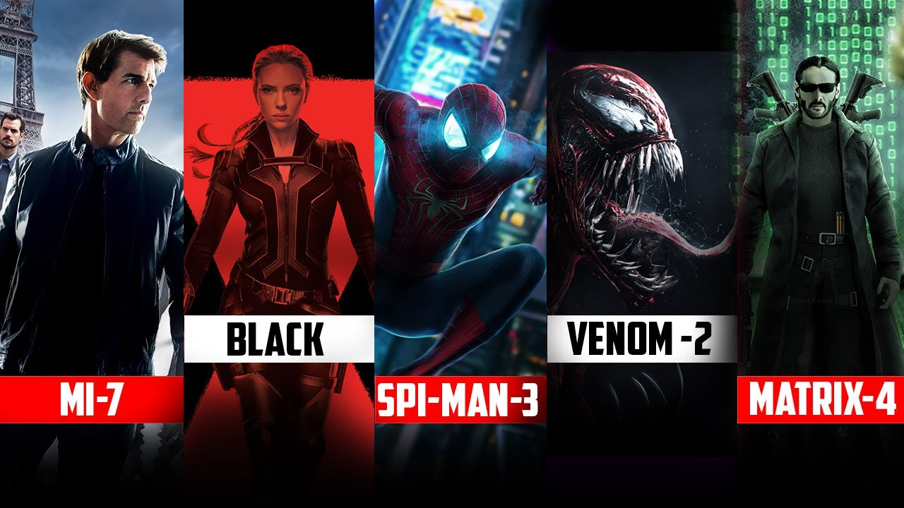 10 Best Upcoming Movies Of 2021 | VENOM 2 | SPIDER-MAN 3 | In HINDI by SE.