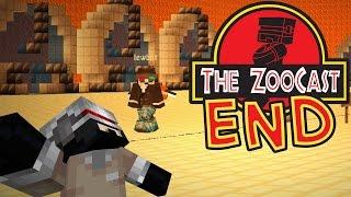 Minecraft Jurassic World (Jurassic Park) ZooCast - #341 The End
