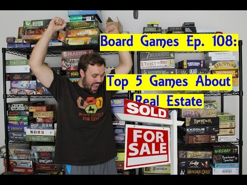 Top 5 Board Games About Real Estate