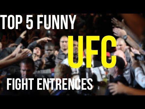 Top 5 Funny UFC Walkouts/Entrances