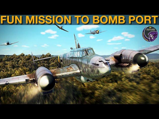 Fun Mission To Bomb Soviet Port   IL-2 Sturmovik