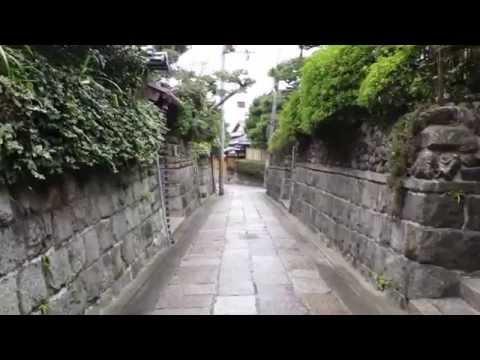 One rainy morning walk in Kyoto