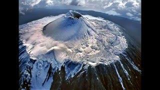 видео вулкан тятя курильские острова