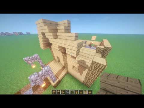 Building Houses in Minecraft (With Shaders)