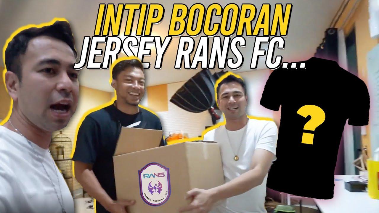 INI PERSIAPAN RAFFI DAN TIM UNTUK LAUNCHING JERSEY RANS FC...
