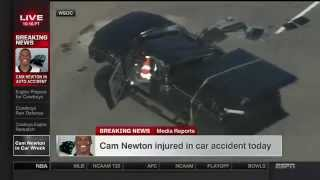Cam Newton Injured in Car Accident!